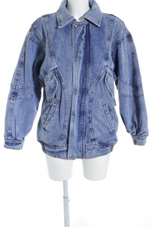 Jeansjacke blau Street-Fashion-Look