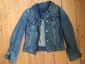 Jeansjacke blau von Gap