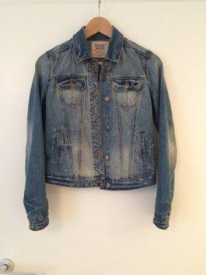 Jeansjacke blau von Zara