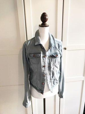 Jeansjacke Blogger Jeans Jacke Blazer Größe 40 top Zustand