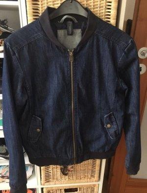 B&C collection Denim Jacket dark blue