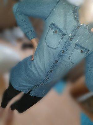 Shirt Jacket azure-cornflower blue