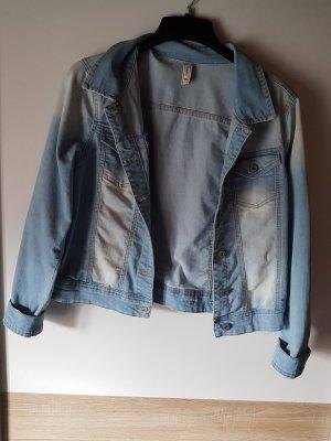 Multiblu Denim Jacket white-azure