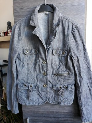 Authentic Denim Jacket slate-gray