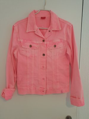 Angel of Style Giacca denim fucsia neon