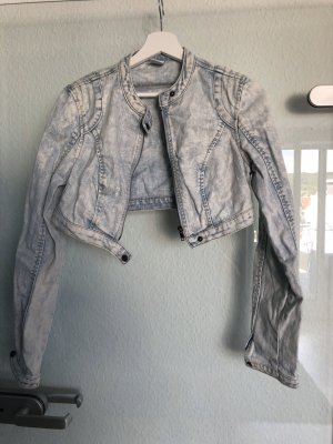 Vero Moda Veste en jean bleu pâle