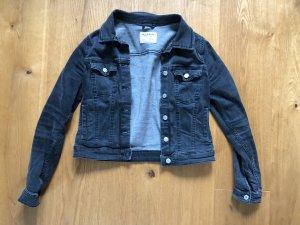 Pull & Bear Denim Jacket dark grey