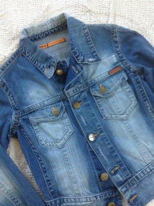 Jeansjacke der Marke freesoul / Gr. 34 / blau