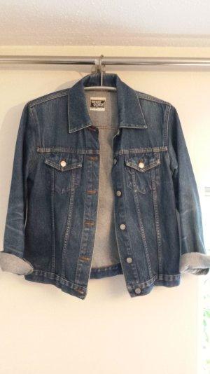 jeansjacke dunkelblau s