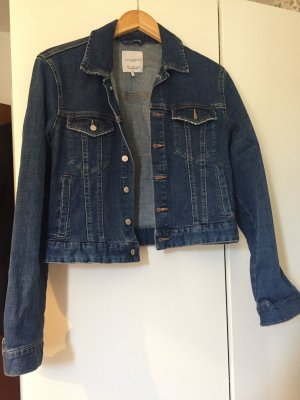 Zara Trafaluc Short Jacket dark blue