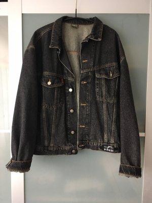 Denim Jacket black-anthracite