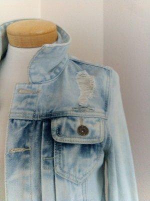 FB Sister Veste en jean bleu clair