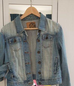 Ann Christine Veste en jean multicolore