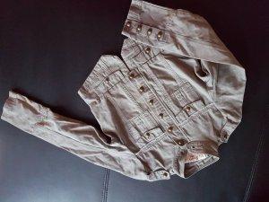 Jeansjacke Gr. 34 Khaki