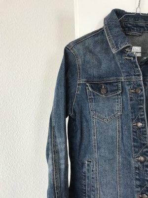 Blue Motion Denim Jacket blue-petrol cotton