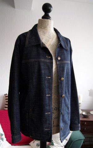 Blazer en jean bleu coton
