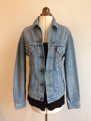 Jeansjacke hellblau 90s Style