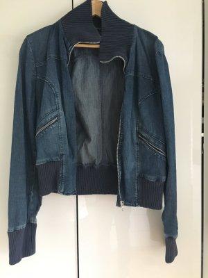Jeansjacke im Blousonstil