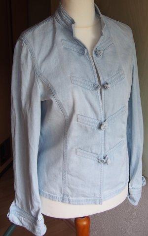 Atelier Gardeur Spijkerblazer lichtblauw-lichtblauw Katoen