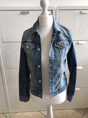 Jeansjacke im Used Look von Mother