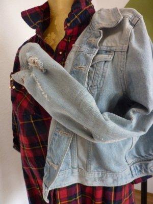 Jeansjacke in heller Waschung Jeansjacke Boyfriendjeansjacke Damenjacke M