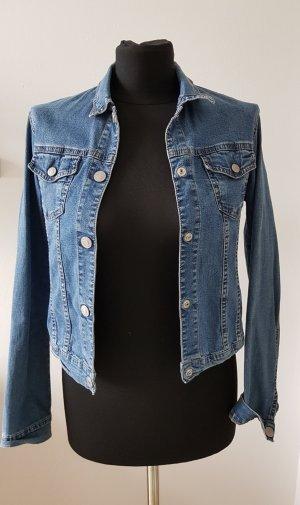 Jeansjacke in mediumblau