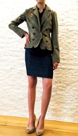 Vero Moda Veste militaire multicolore tissu mixte