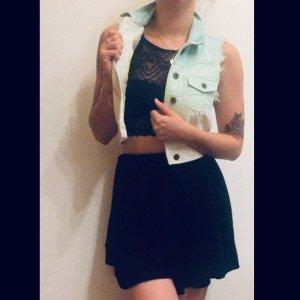 Jeansjacke in ombre Türkis Für den Sommer