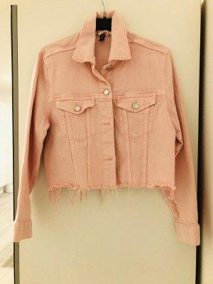 Denim Jacket pink