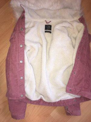 Jeansjacke in rosa