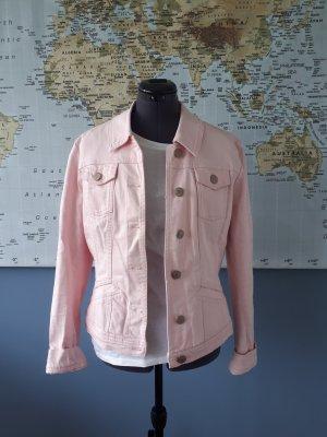 Bandolera Denim Jacket pink