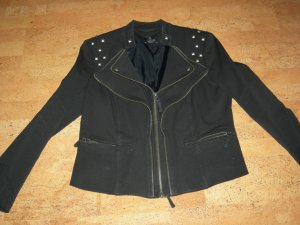 Madeleine thompson Denim Blazer black