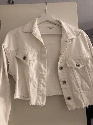 Denim Jacket white