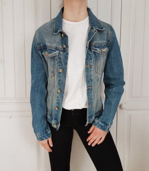 Review Veste en jean multicolore