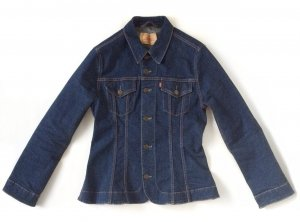 Levi's Denim Blazer multicolored cotton