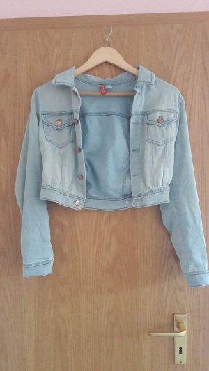 Jeansjacke Jeanshemd Größe 36 von H&M