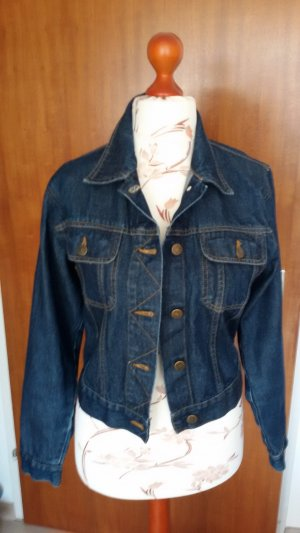 John F. Gee Denim Jacket dark blue cotton