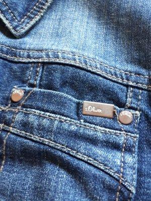 Jeansjacke kurzgeschnitten