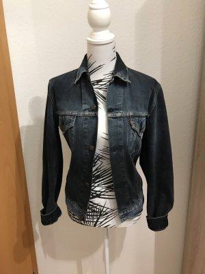 Levi's Veste en jean noir-bleu foncé