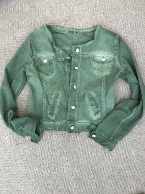 Denim Jacket khaki-forest green