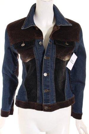 Denim Jacket multicolored casual look
