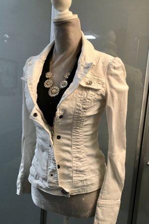 Jeansjacke Miss Sixty / tailliert / Weiß
