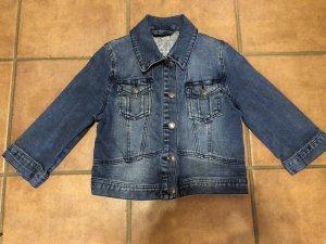 Jeansjacke mit 3/4 langen Ärmeln