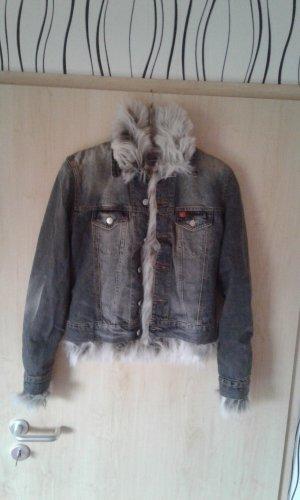 Jeansjacke mit Fell Winter