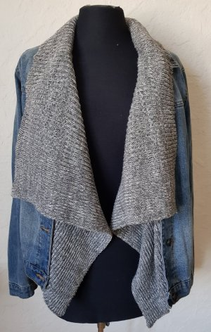 Denim Jacket light grey-azure