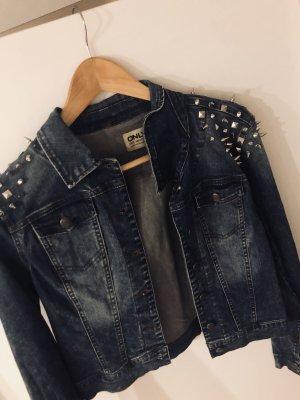 Jeansjacke mit Nieten ONLY