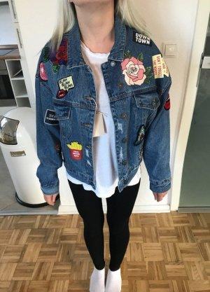 Jeansjacke mit patches *Neu*