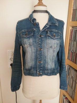 Jeansjacke mit schöner Waschung