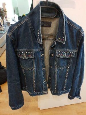 Jeansjacke mit Steinchen S/M