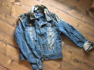 Jeansjacke mit Studs